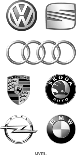 VW - Volkswagen, Audi, Seat, Porsche, BMW, Opel, Skoda