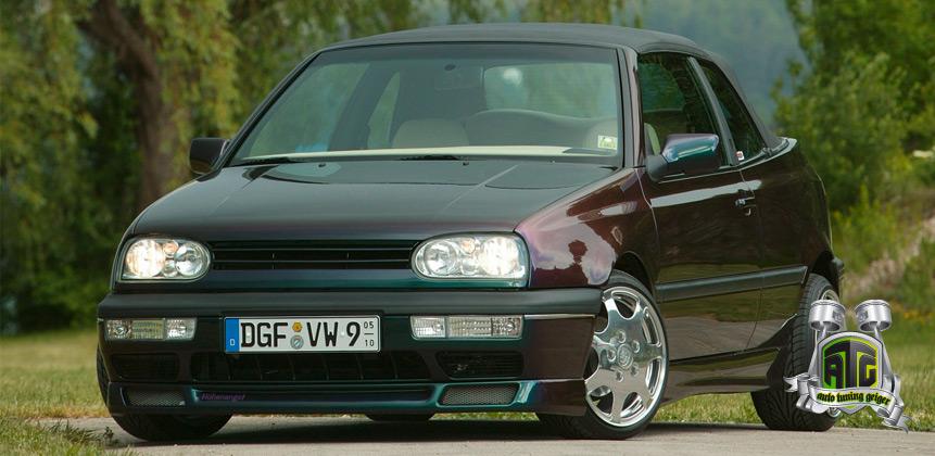 VW Golf III Cabrio GTI ATG auto tuning geiger