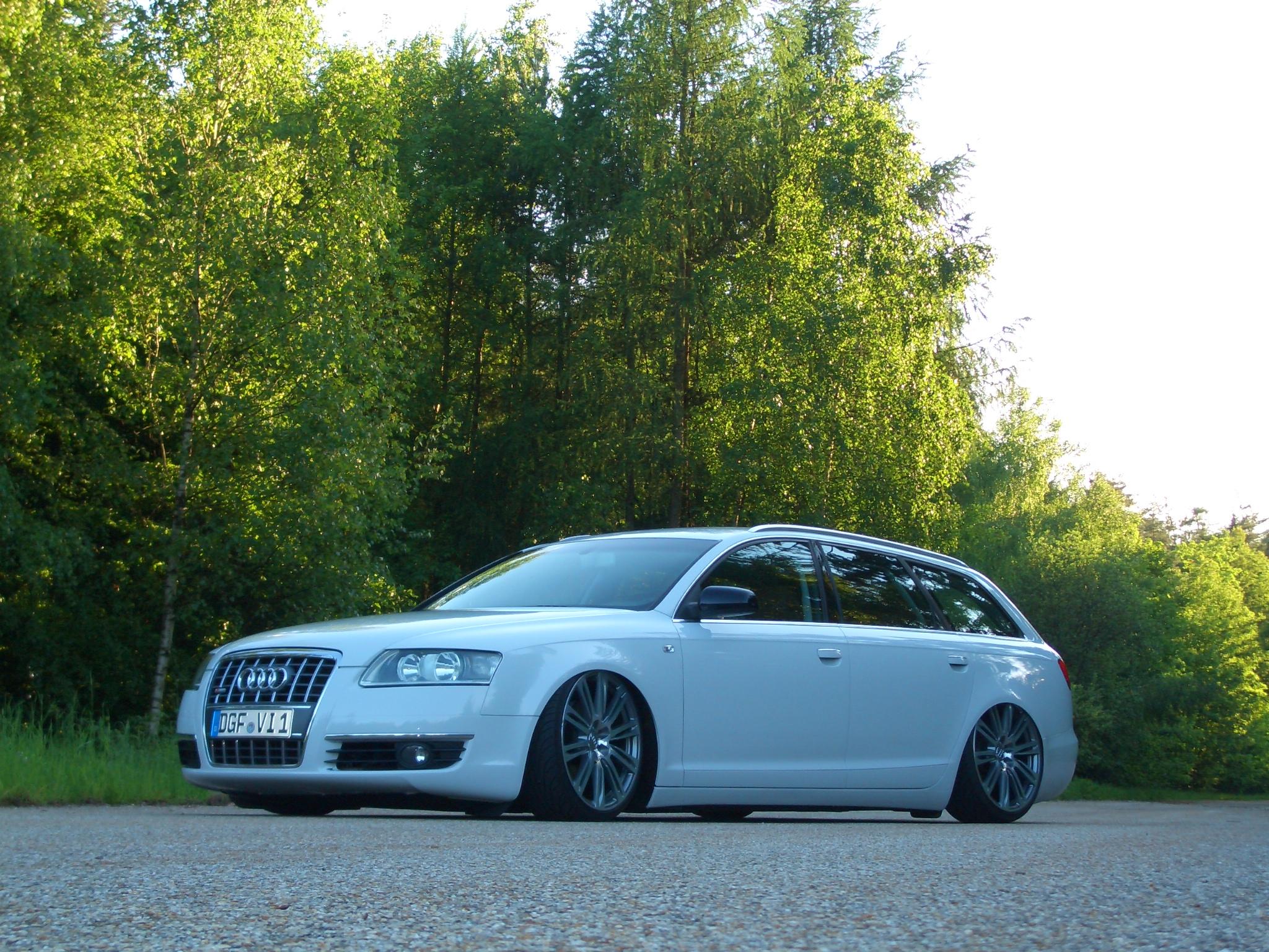 Audi A6 Avant Steingrau Foliert Atg Auto Tuning Geiger